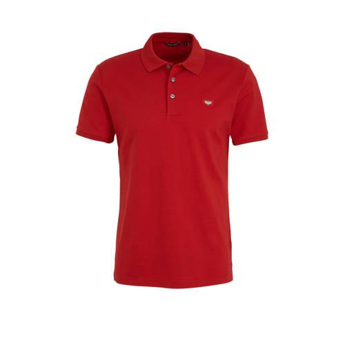 Antony Morato slim fit polo met logo rood