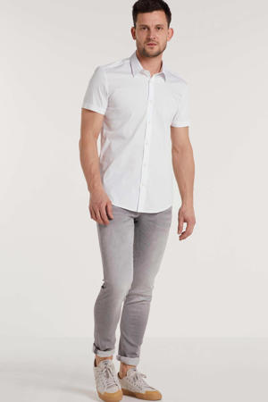 super slim fit overhemd wit