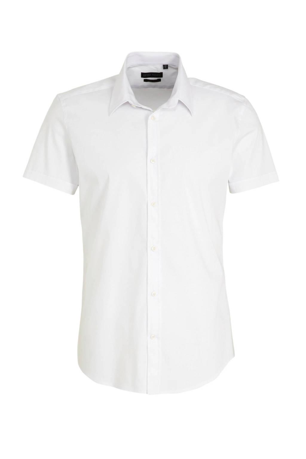 Antony Morato super slim fit overhemd wit, Wit