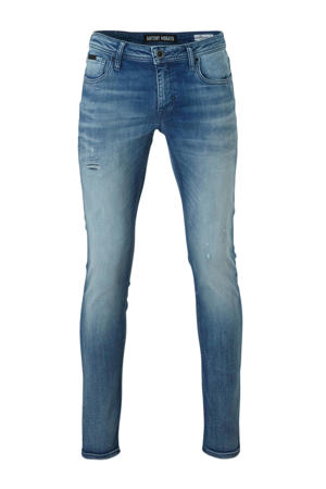 tapered fit jeans light denim