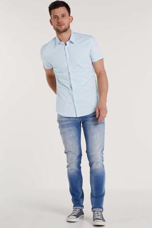 super slim fit overhemd lichtblauw