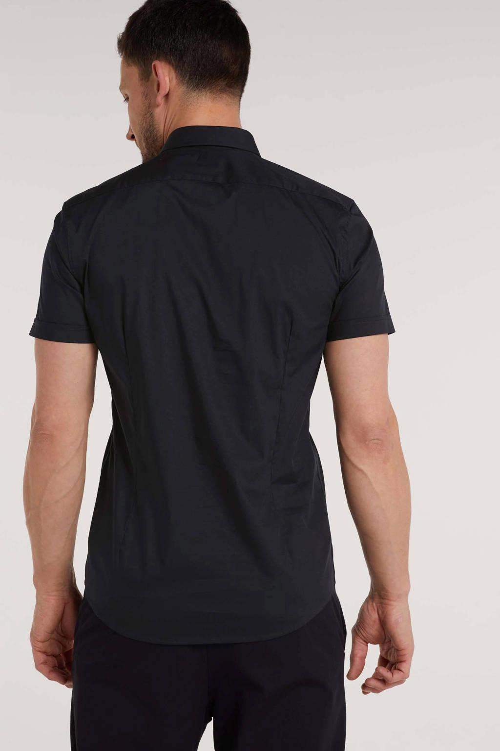 Antony Morato super slim fit overhemd marine, Marine