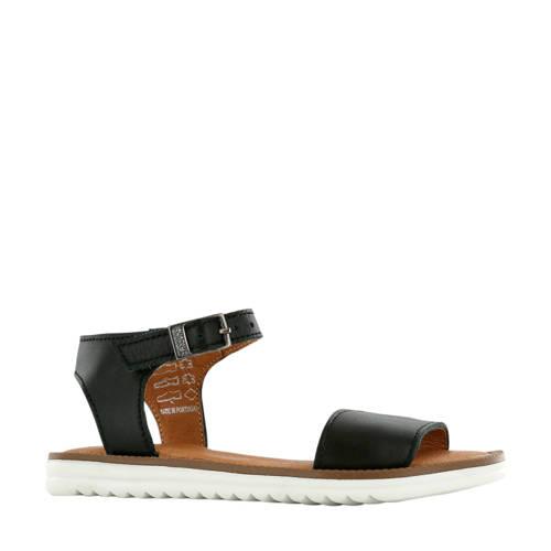 Shoesme MA20S025-F leren sandalen zwart