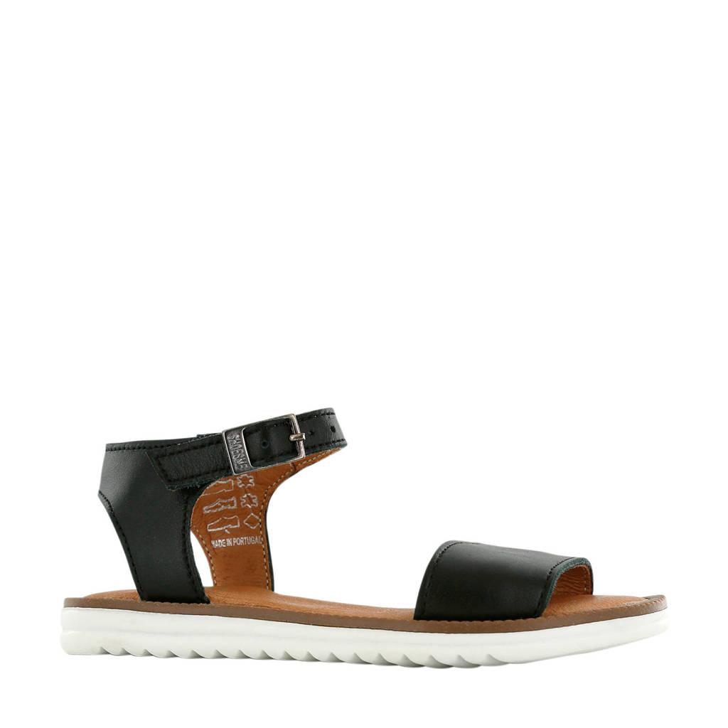 Shoesme MA20S025-F  leren sandalen zwart, Zwart