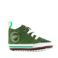 Shoesme BP20S004-B  leren sneakers groen, Groen