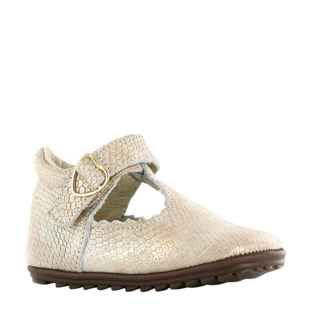 Shoesme BP20S001-B  leren sandalen goud, Goud