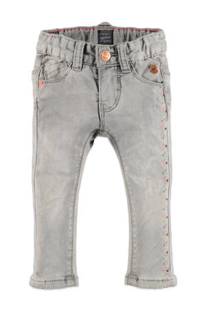 regular fit jeans lichtgrijs denim