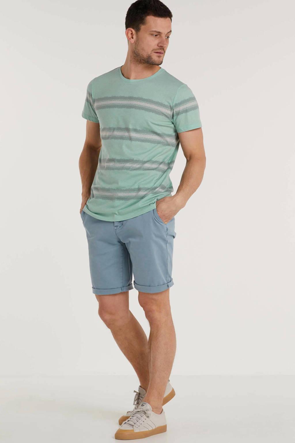 Redefined Rebel gestreept T-shirt mintgroen, Mintgroen