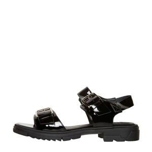 sandalen lak zwart