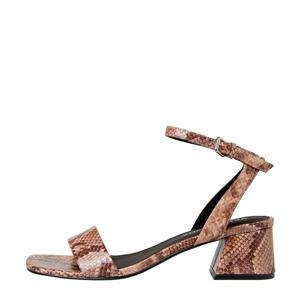 sandalettes slangenprint