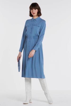 blousejurk Caddy Beach blauw