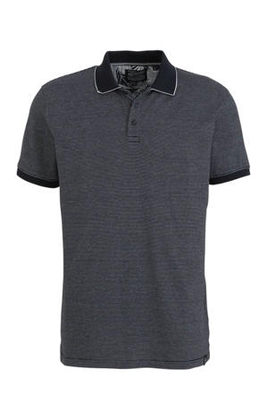 slim fit polo deep navy