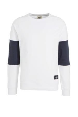 sweater wit/zwart