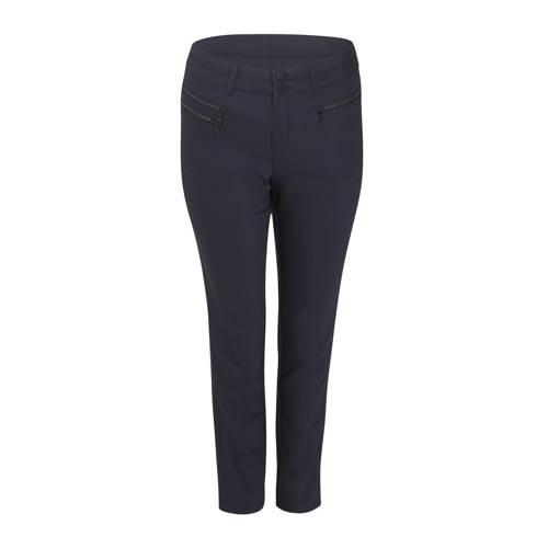 Paprika straight fit broek donkerblauw