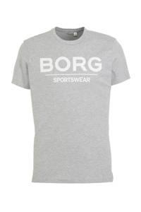 Björn Borg   sport T-shirt grijs melange, Grijs melange