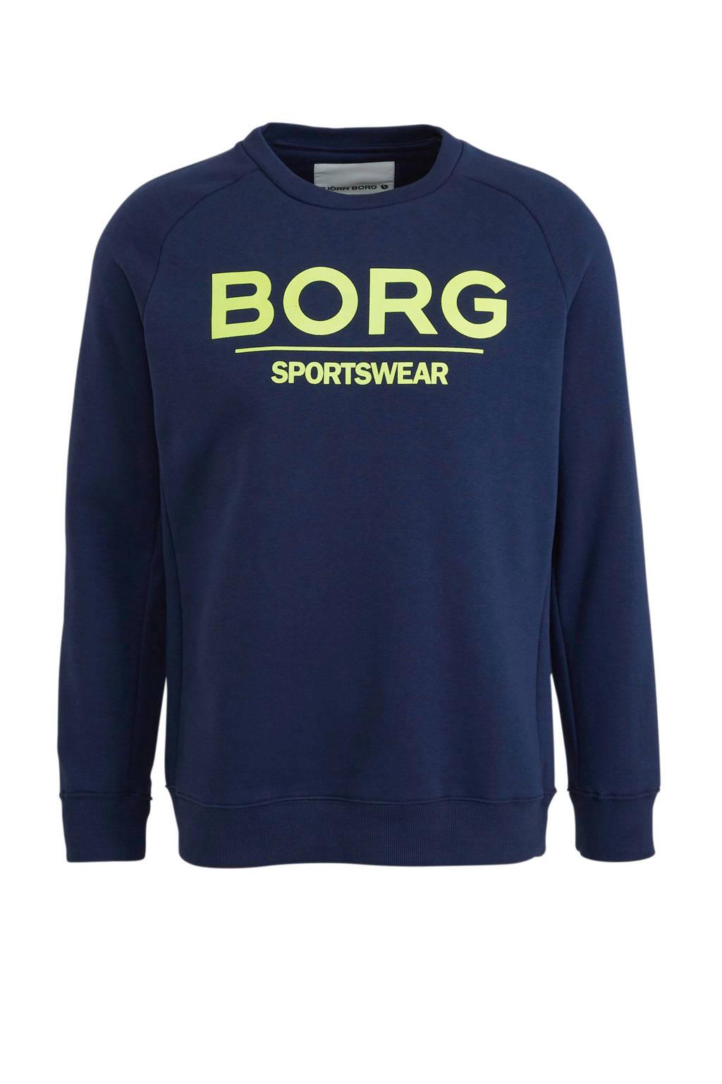 Björn Borg   sweater donkerblauw, Donkerblauw
