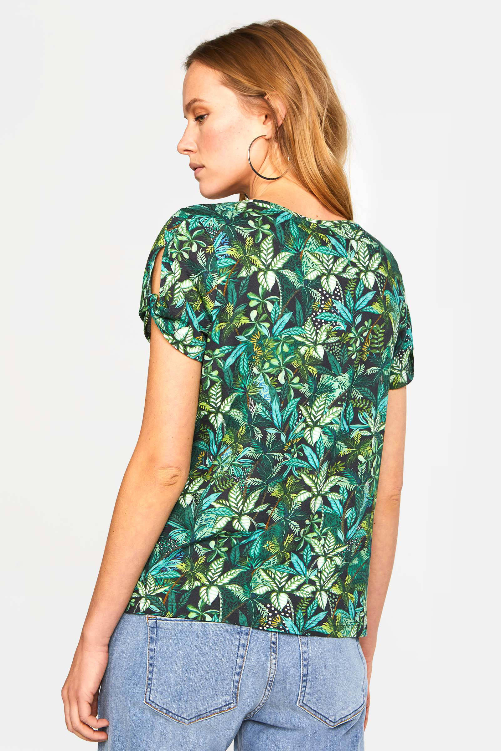 WE Fashion T-shirt met all over print multi