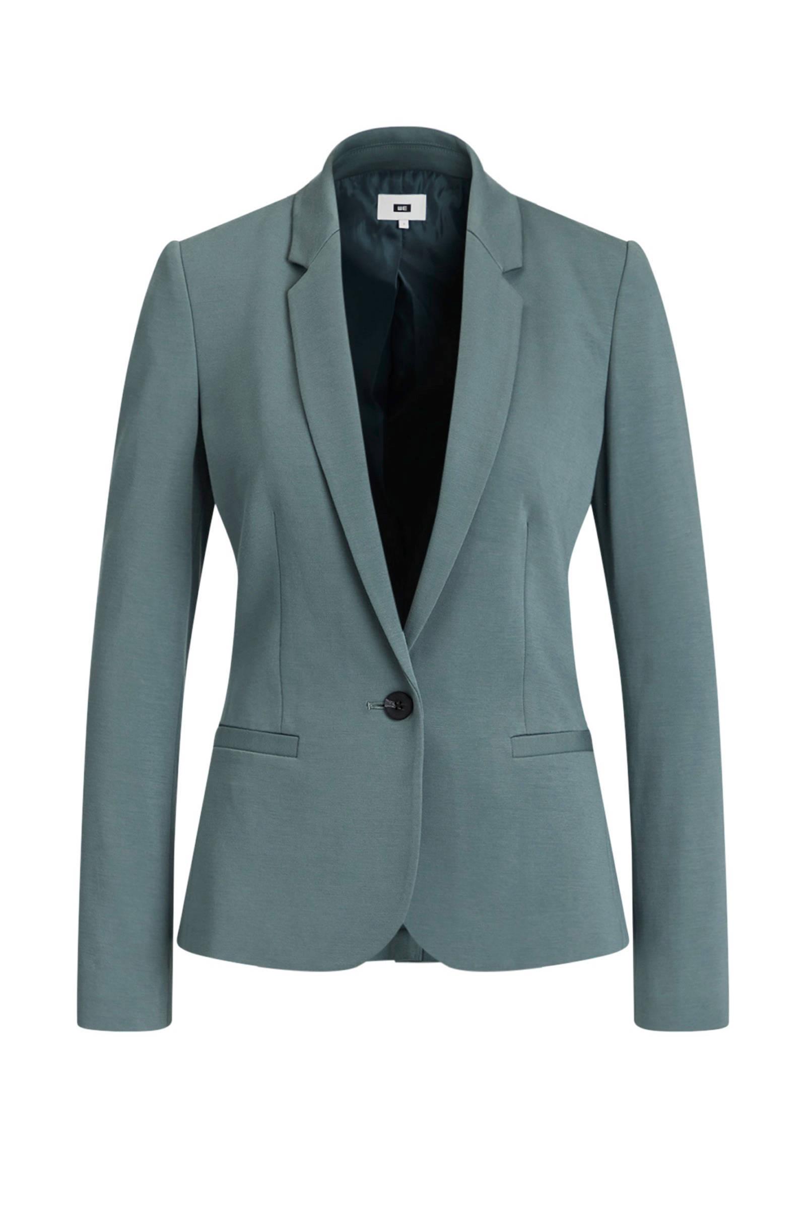 WE Fashion blazer sea green | wehkamp