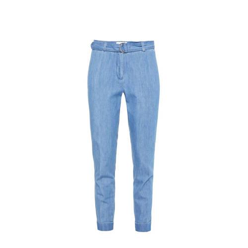 WE Fashion Blue Ridge cropped loose fit broek ligh