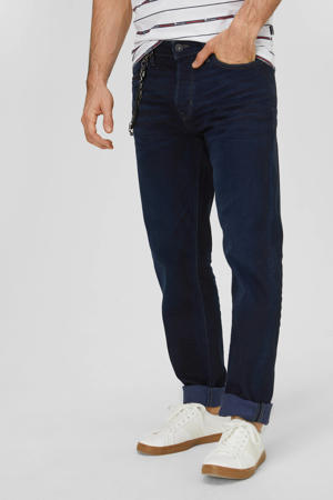 loose fit jeans donkerblauw