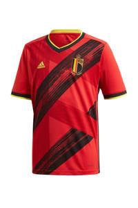 adidas Performance Junior België voetbalshirt thuis, Rood/zwart/geel