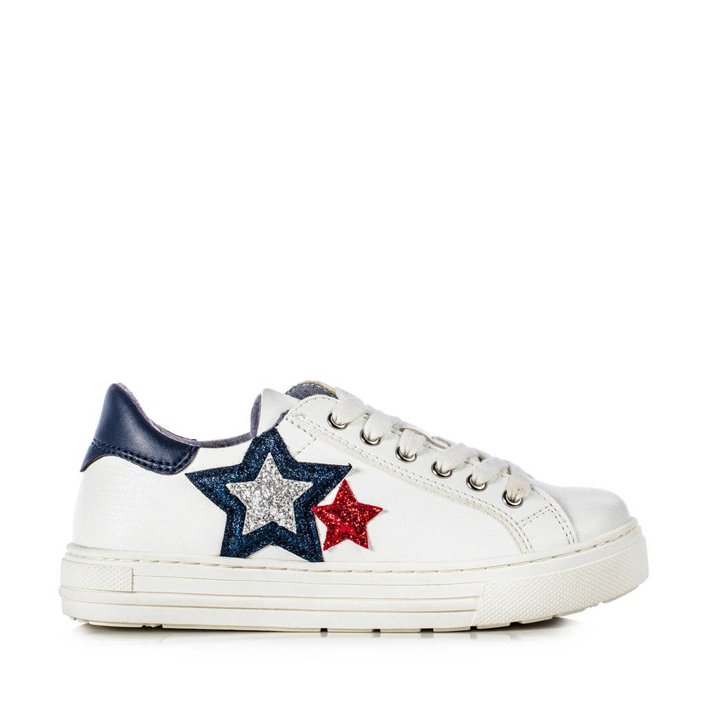 Tommy Hilfiger   sneakers wit, Wit/blauw/rood