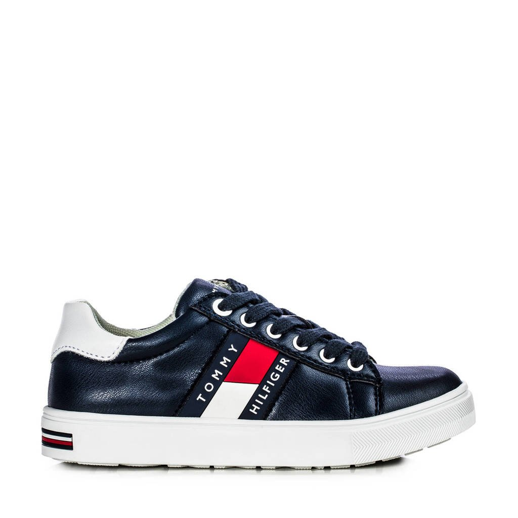 Tommy Hilfiger   sneakers donkerblauw, Blauw/multi