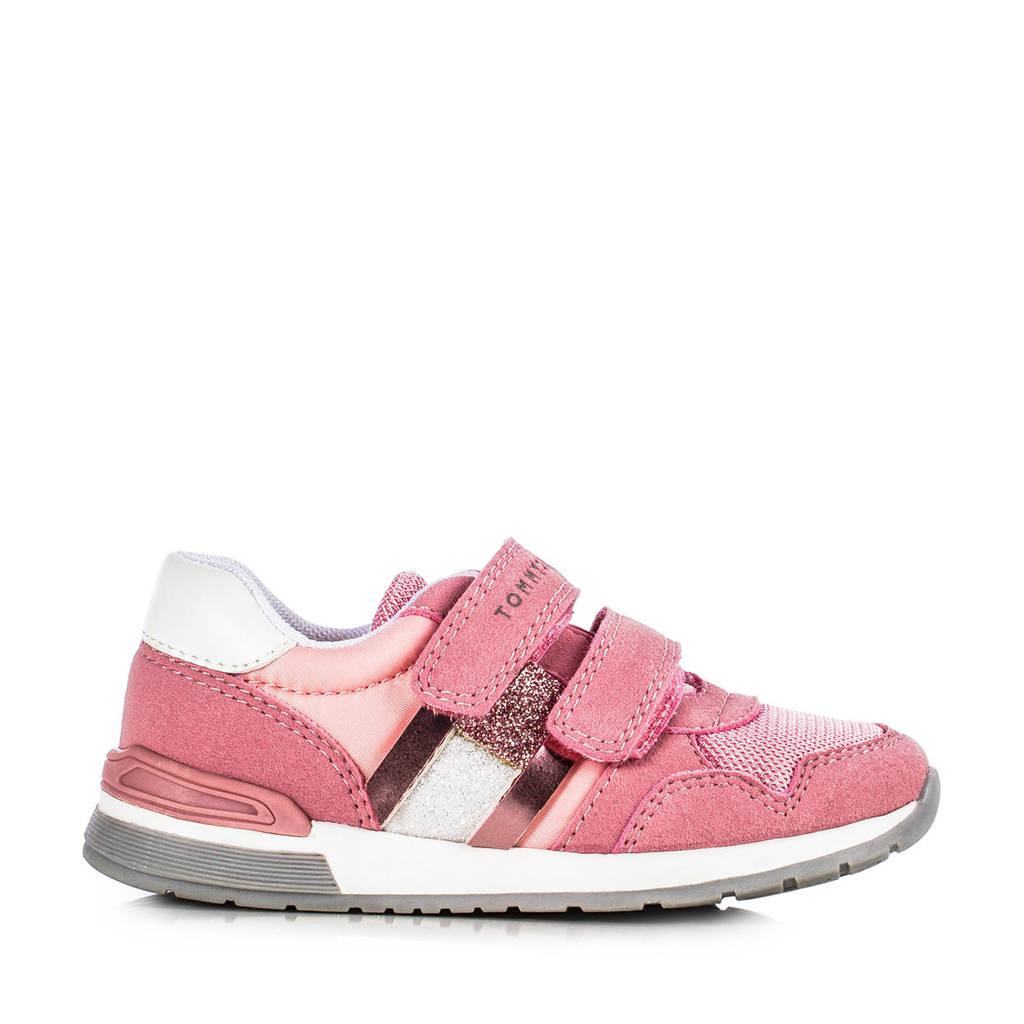 Tommy Hilfiger   sneakers roze, Roze/wit