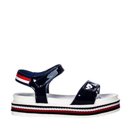 Tommy Hilfiger sandalen lak blauw