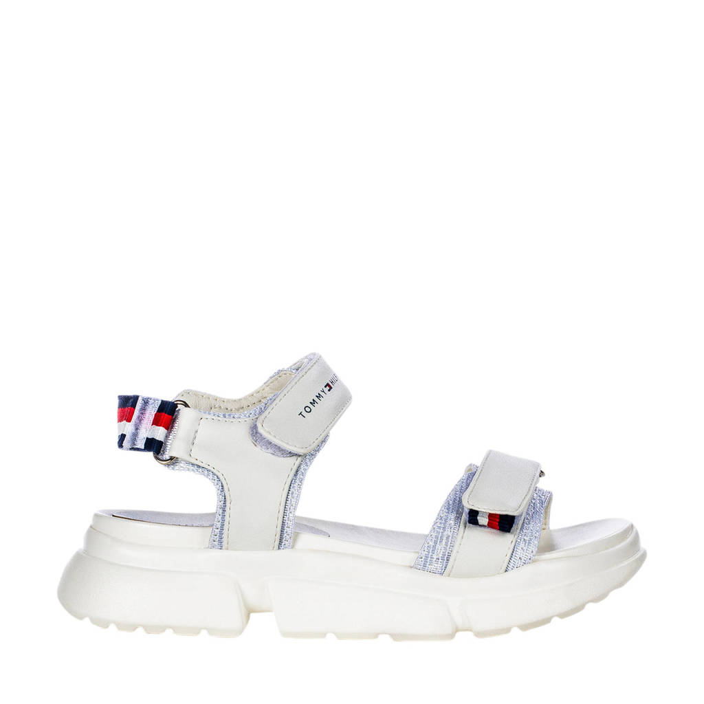 Tommy Hilfiger   sandalen wit, Wit/multi