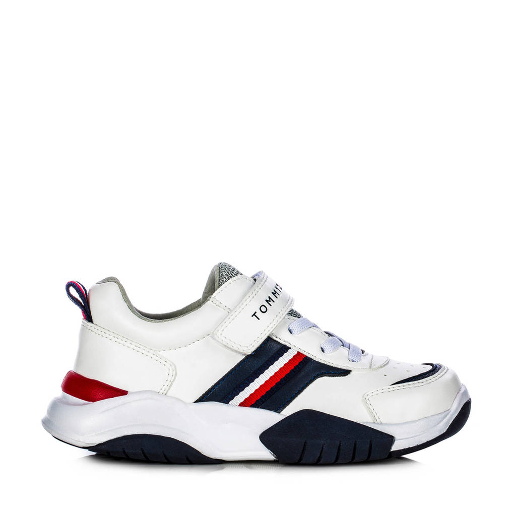 Tommy Hilfiger   sneakers off white/blauw, off white/multi
