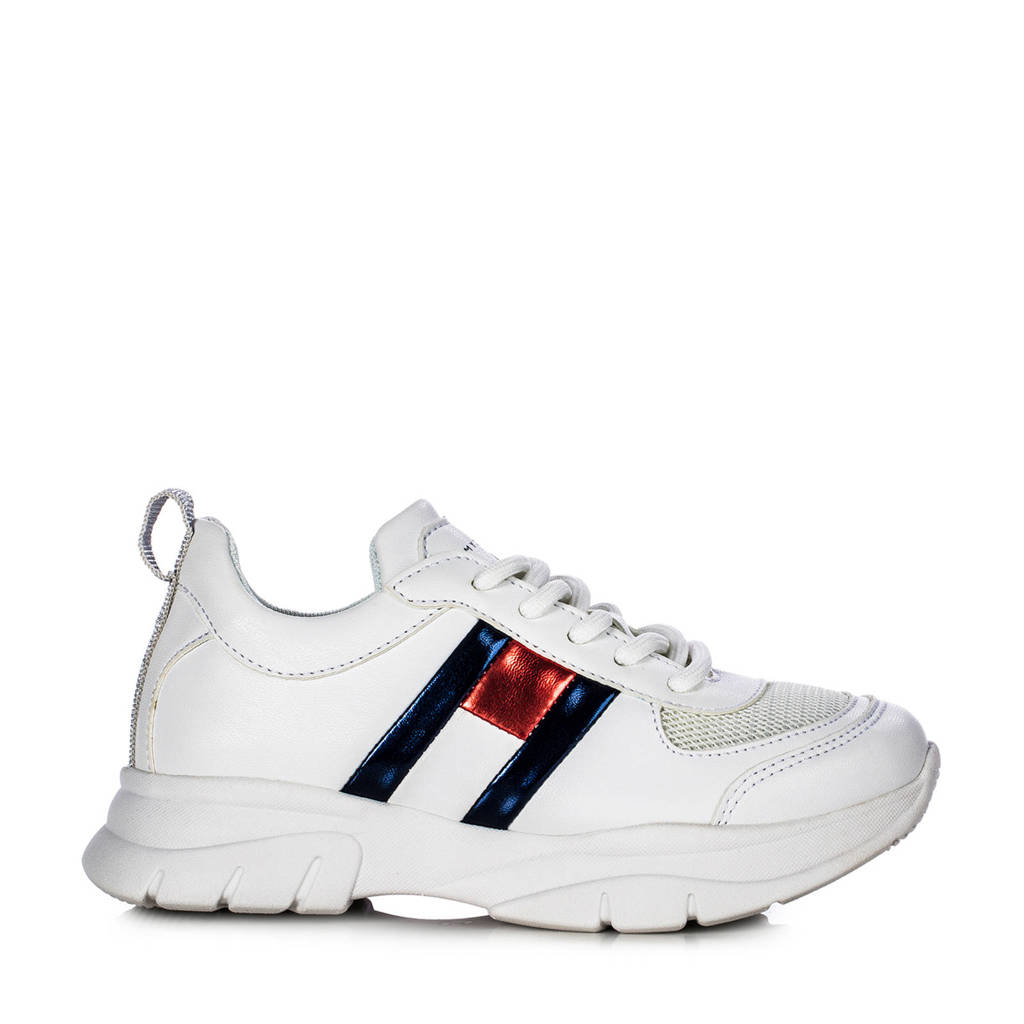 Tommy Hilfiger   chunky sneakers wit, Wit/multi