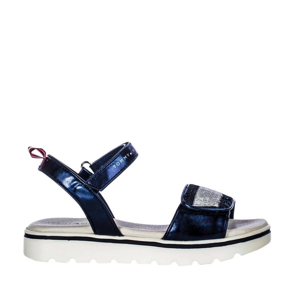 Tommy Hilfiger   sandalen blauw/metallic