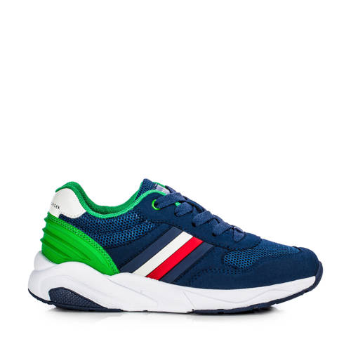 Tommy Hilfiger sneakers blauw/groen