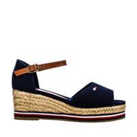 Tommy Hilfiger   sandalen blauw, Blauw/bruin