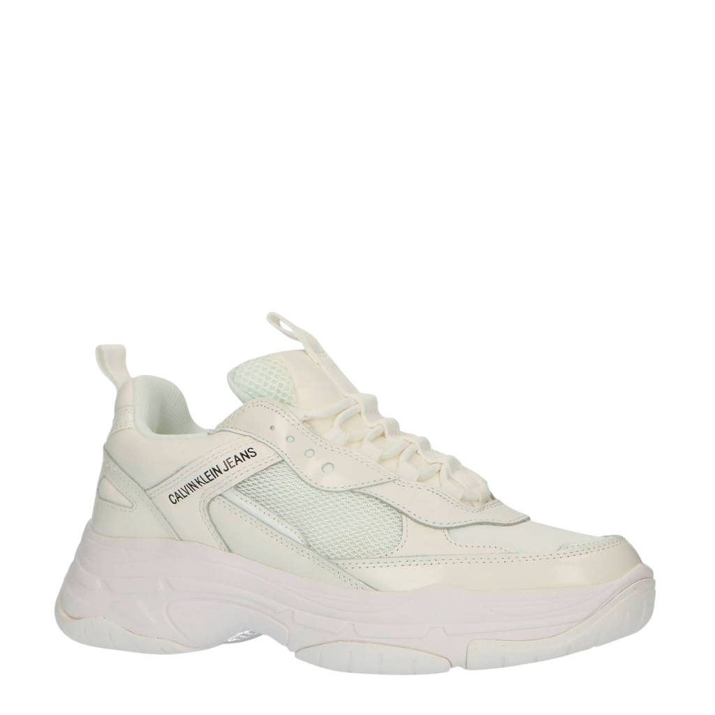 CALVIN KLEIN JEANS Maya  chunky sneakers wit/off white, Wit/Off white