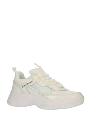 Maya  chunky sneakers wit/off white
