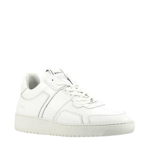 Nubikk Yucca Cane leren sneakers wit
