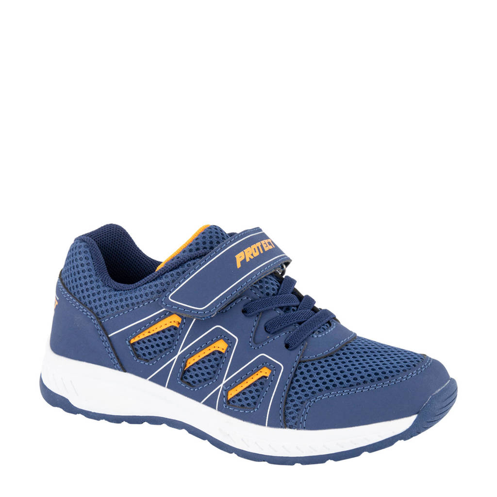 Victory   sneakers blauw, Blauw/oranje