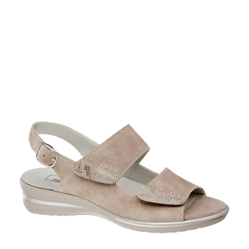 Medicus   leren sandalen beige, Beige