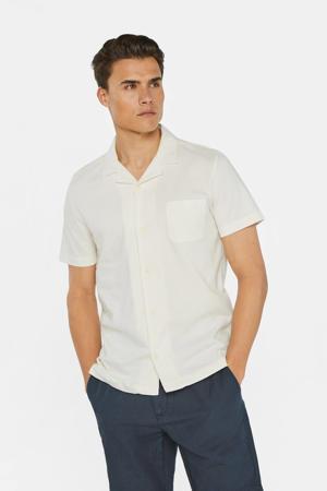 slim fit overhemd new ivory