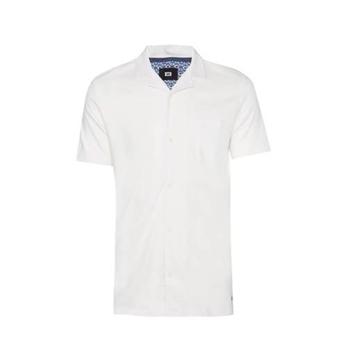 WE Fashion slim fit overhemd new ivory