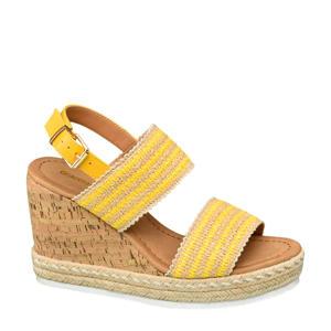 sandalettes geel