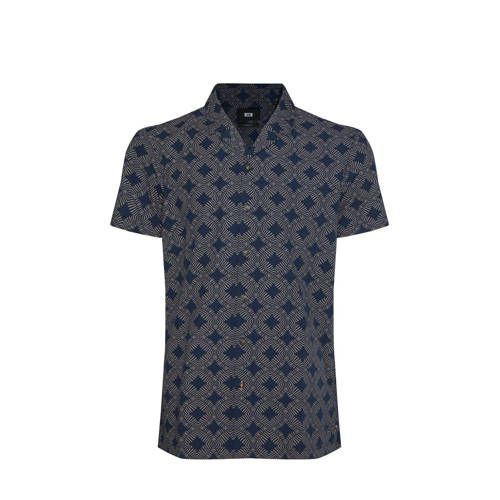 WE Fashion regular fit overhemd met all over print