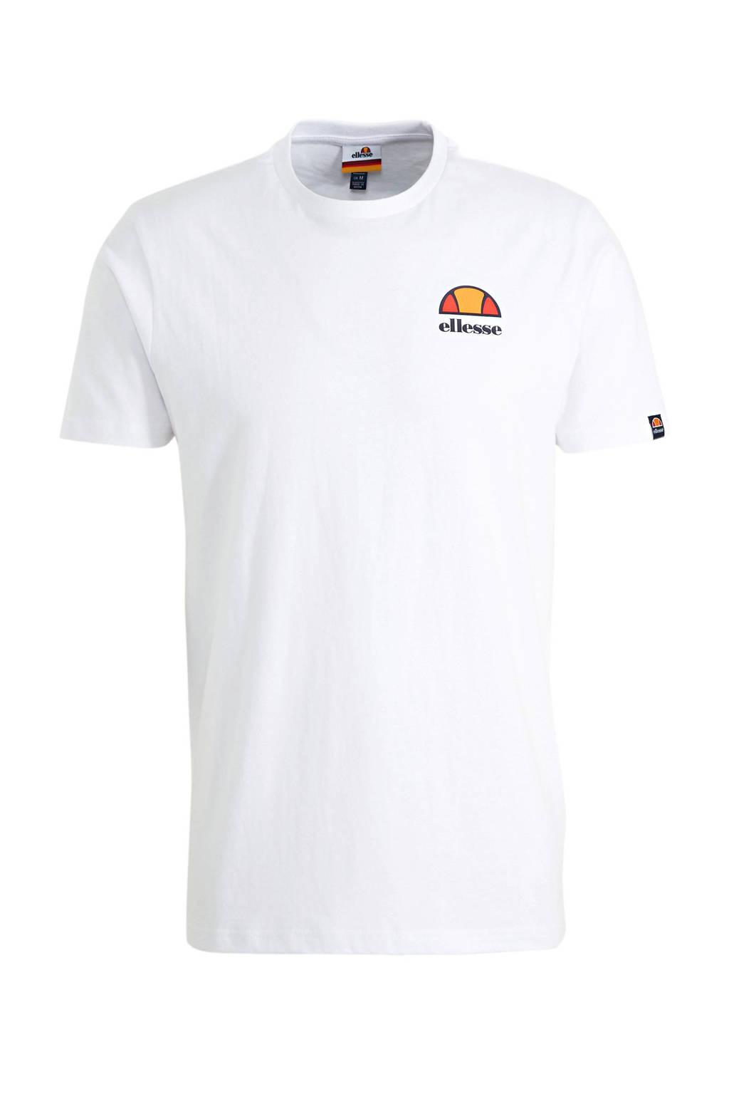 Ellesse T-shirt wit, Wit