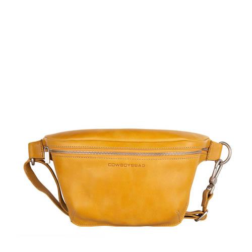 Cowboysbag leren heuptas Fanny Pack Savanne oker