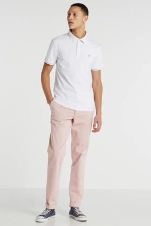 super slim fit polo wit