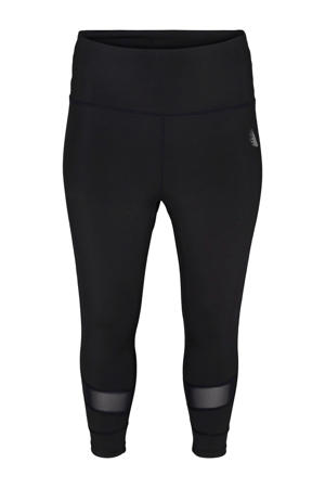 Plus Size sportbroek zwart