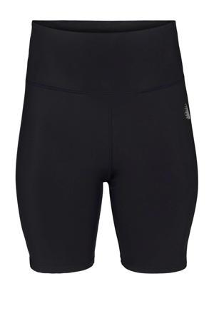 Plus Size sportshort zwart