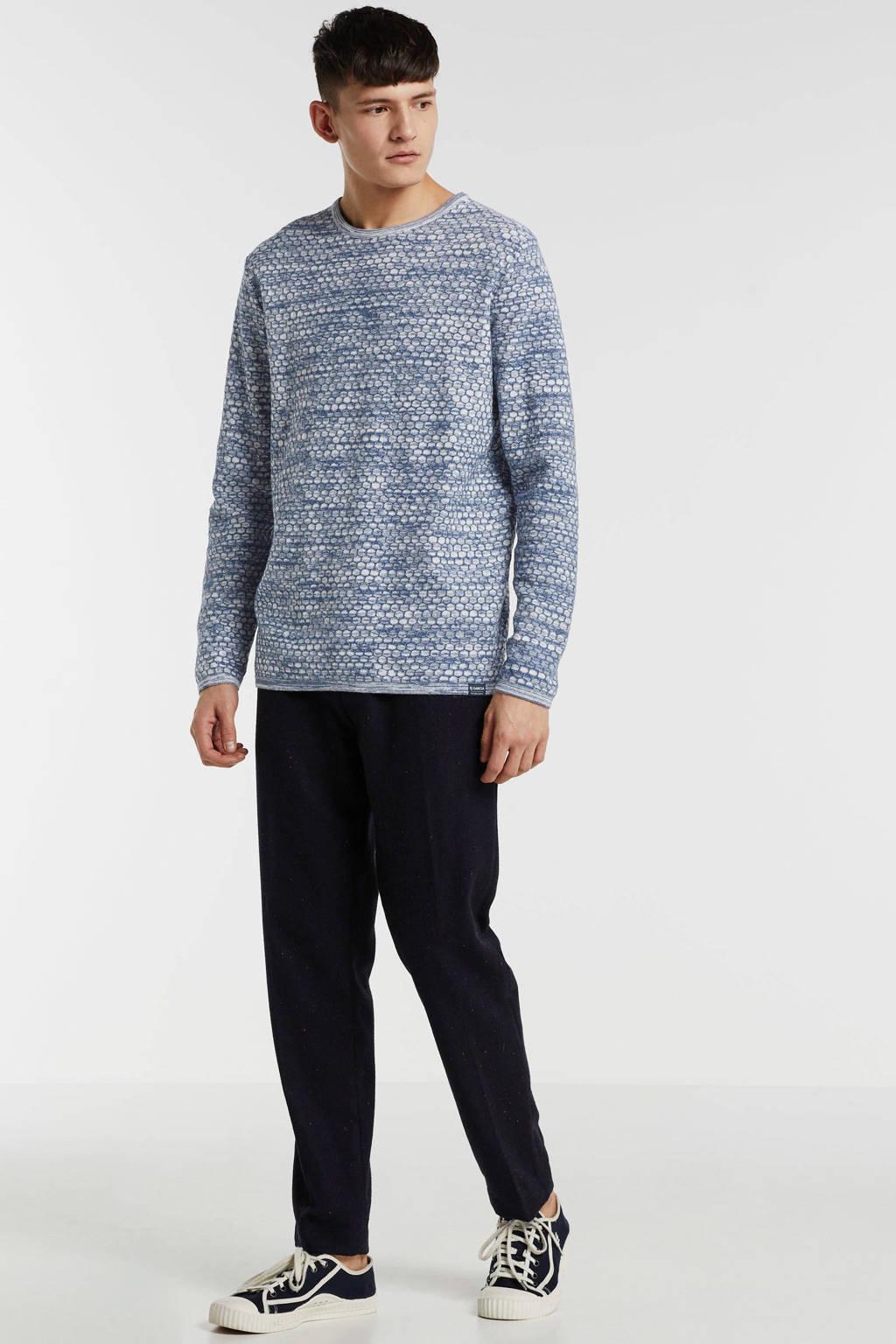 Garcia sweater grijsblauw, Grijsblauw